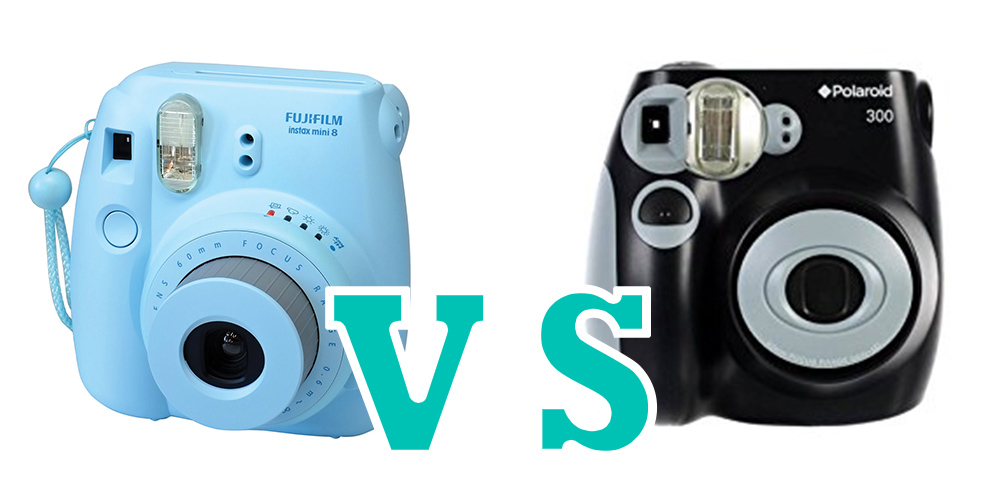 fujifilm instax mini 8 vs polaroid pic 300 specs comparision. Black Bedroom Furniture Sets. Home Design Ideas