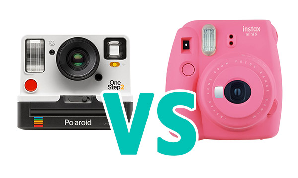 Polaroid ONESTEP 2 VS Fujifilm Instax Mini 9