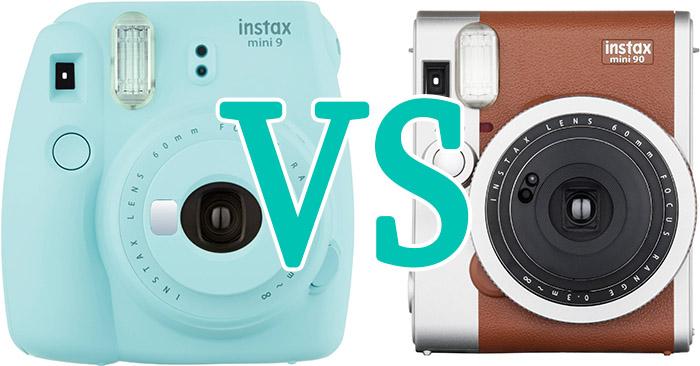 İnstax Mini 9 vs Instax Mini 90