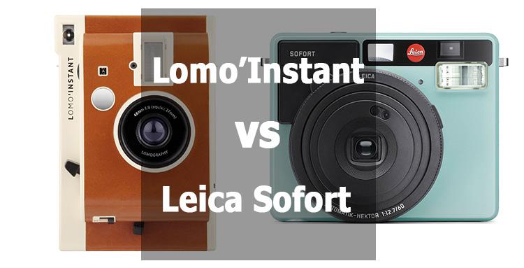 Lomo'Instant vs Leica Sofort