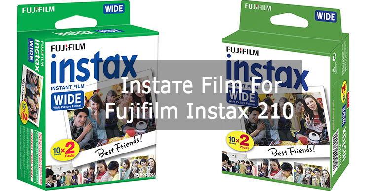 Insttant film for Fuji Instax 210