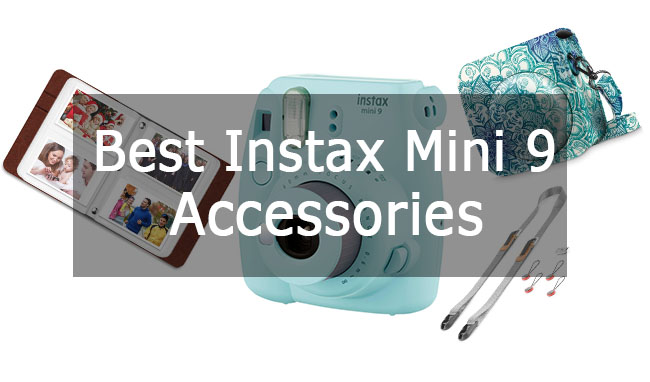 Best Fujifilm Instax Mini 9 Accessories