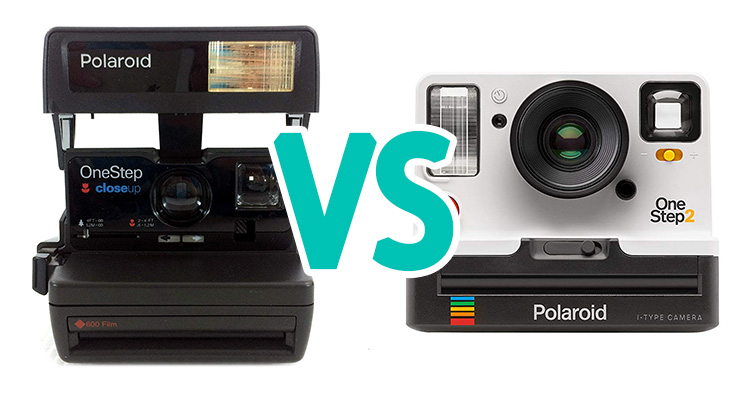 Polaroid OneStep 2 vs OneStep Close-Up 600