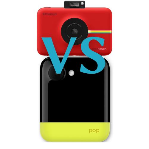 Polaroid Pop vs Polaroid Snap Touch