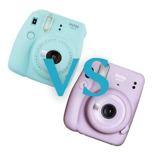 Fujifilm Instax Mini 9 vs 11