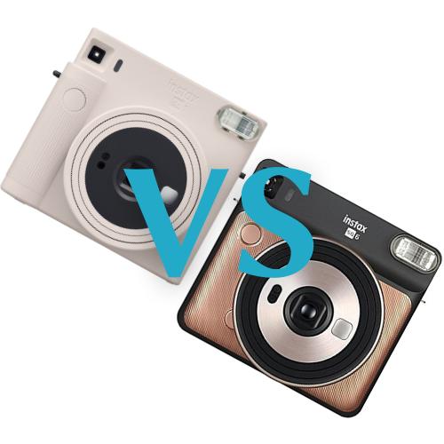 Fujifilm Instax SQ1 vs Instax SQ6