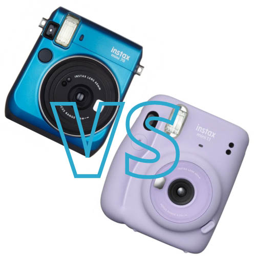 Instax Mini 11 vs Instax Mini 70