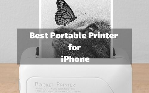 Portable Printer for iPhone