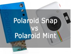 Polaroid Mint vs Polaroid Snap